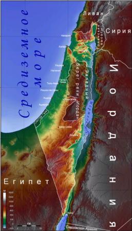 Очень краткая история Израиля